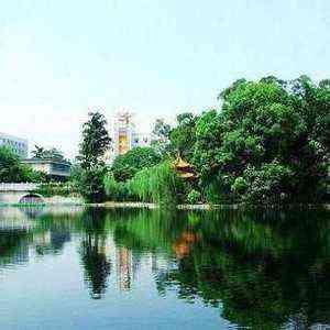 广西民族大学相思湖学院-风景