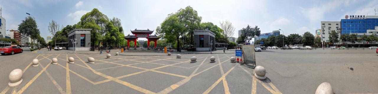 四川大学-风景